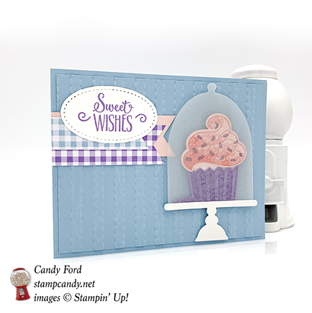 Hello Cupcake stamp set, Sale-a-bration coordination dies, Stampin' Up! #stampcandy