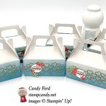 Meant to Be bundle, mini gable boxes by Stampin