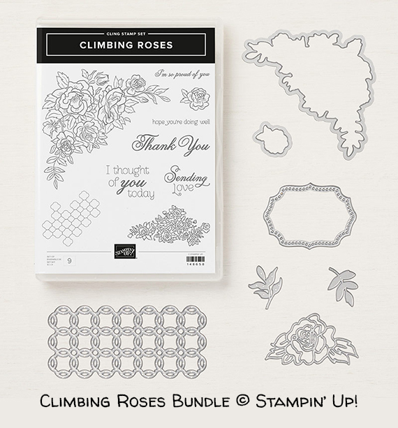Climbing Roses Bundle © Stampin' Up!