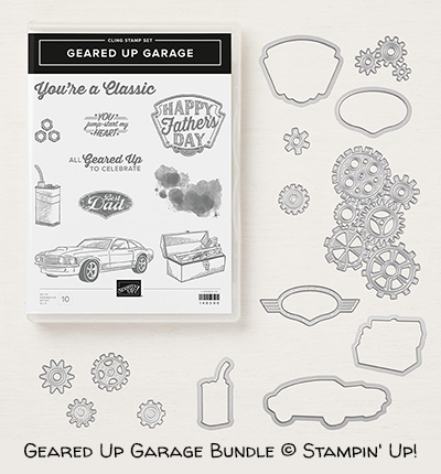 Geared Up Garage Bundle © Stampin' Up!