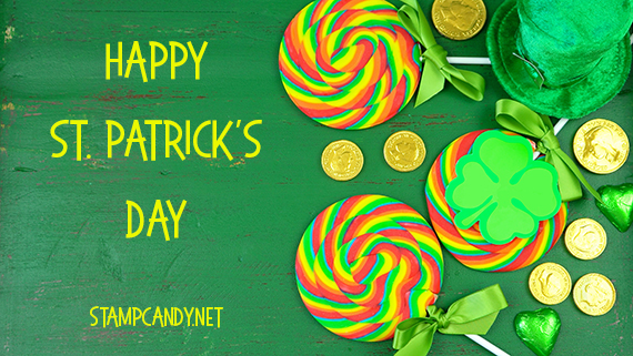 Happy St Patrick's Day #stampcandy