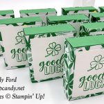 Good Luck Andes Mint boxes made by Candy Ford using the Amazing Life stamp set and Happiness Blooms Designer Series Paper from Stampin
