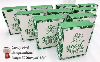 Sliding Mint Boxes for a Happy St. Patrick's Day