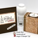 Amazing Life stamp set, Corrugated dynamic embossing folder, Copper Tin, from Stampin