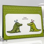 Hey Love stamp set, Dot to Dot embossing folder from Stampin
