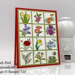 In Every Season stamp set Sunny Days stamp set, and Stitched Shaped Framelits Dies from Stampin