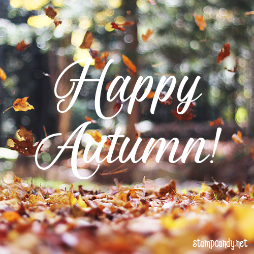 Happy Autumn! #stampcandy