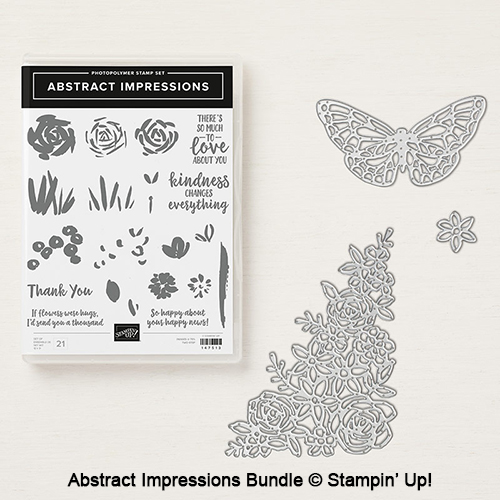 Abstract Impressions bundle © Stampin' Up!