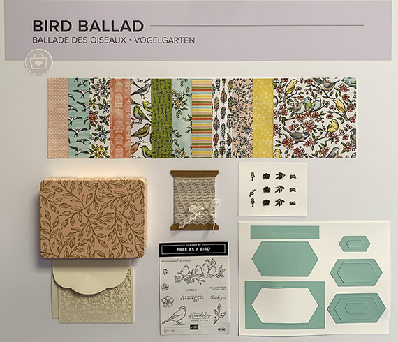 Bird Ballad Suite © Stampin' Up!