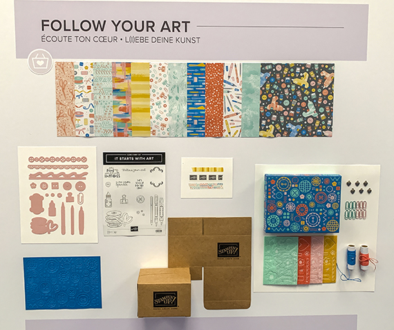 Follow Your Art suite © Stampin' Up!