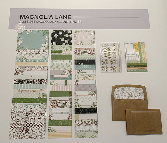 Magnolia Lane suite © Stampin' Up!