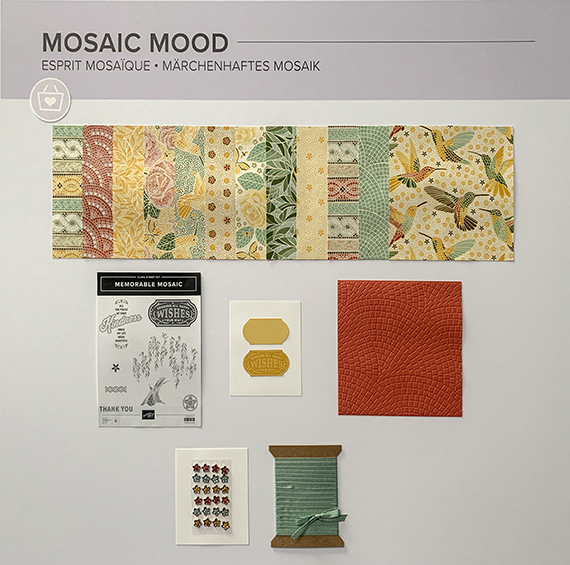 Mosaic Mood suite © Stampin' Up!