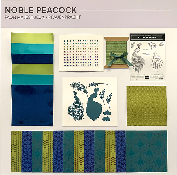 Noble Peacock suite © Stampin' Up!