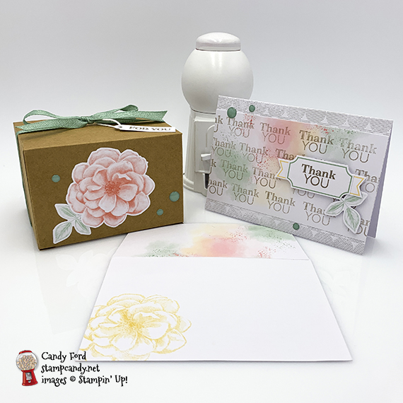Sentimental Rose April 2019 Paper Pumpkin kit, alternative projects for the Paper Pumpkin Possibilities Blog Hop, made by Candy Ford #stampcandy