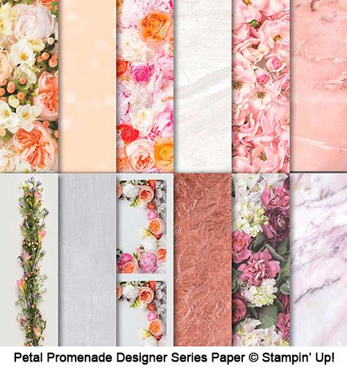 Petal Promenade Designer Series Paper © Stampin' Up!