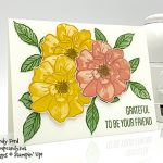friend card made by Candy Ford using the To A Wild Rose stamp set from Stampin