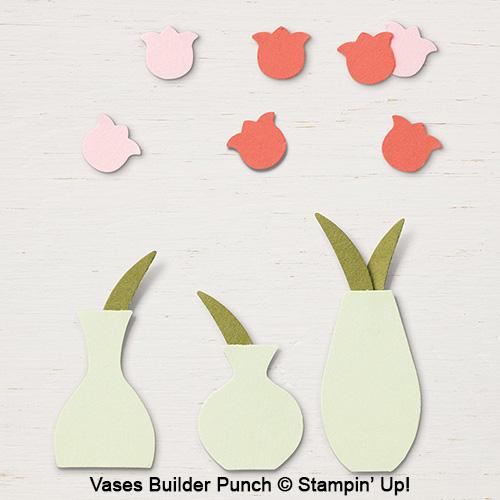 Vases Builder Punch © Stampin' Up!