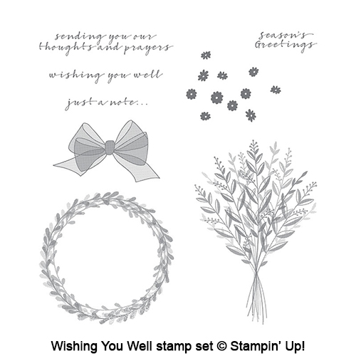 Wishing You Well stamp set © Stampin' Up!