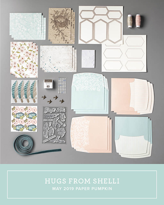 Hugs From Shelli May 2019 Paper Pumpkin Kit