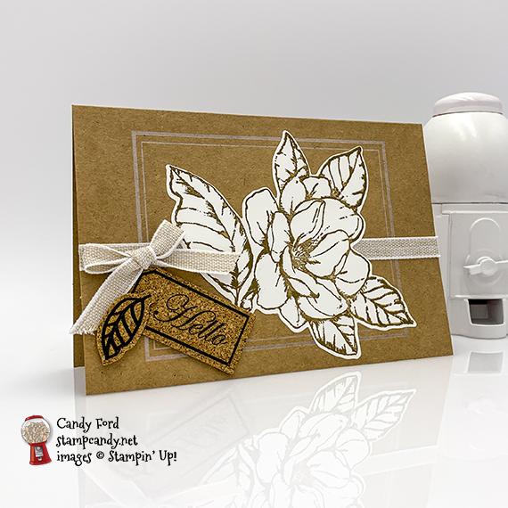 Magnolia Lane, Good Morning Magnolia by Stampin' Up! #stampcandy