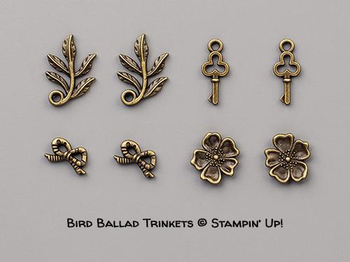 Bird Ballad Trinkets © Stampin' Up!