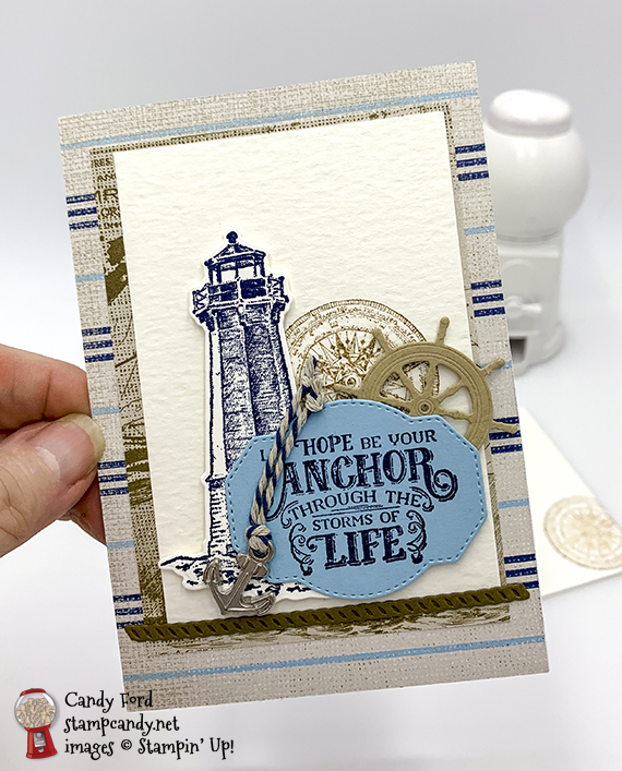 Come Sail Away Suite from Stampin' Up! #stampcandy