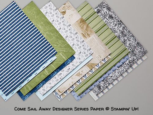 Come Sail Away Designer Series Paper © Stampin' Up!
