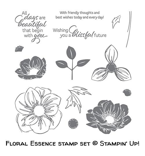 Floral Essence stamp set © Stampin' Up!