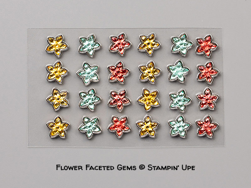 Flower Faceted Gems © Stampin' Up!