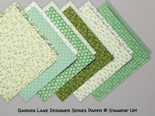 Garden Lane Designer Series Paper © Stampin' Up!