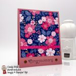 Everything is Rosy (limited edition product medley - only available in May 2019) handmade congratulations card made by Candy Ford #stampcandy