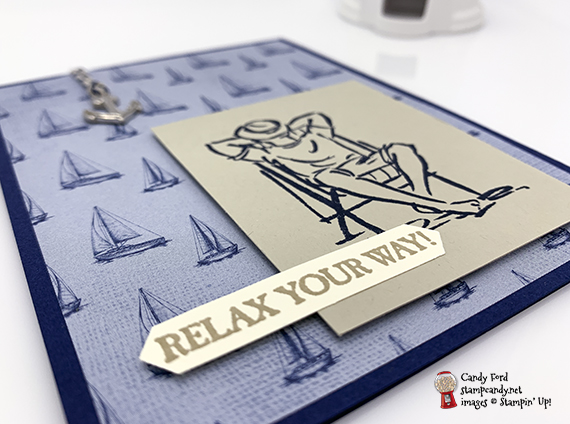 Stampin' Up! A Good Man stamp set from the 2019-2020 Annual Catalog handmade masculine card made by Candy Ford of Stamp Candy