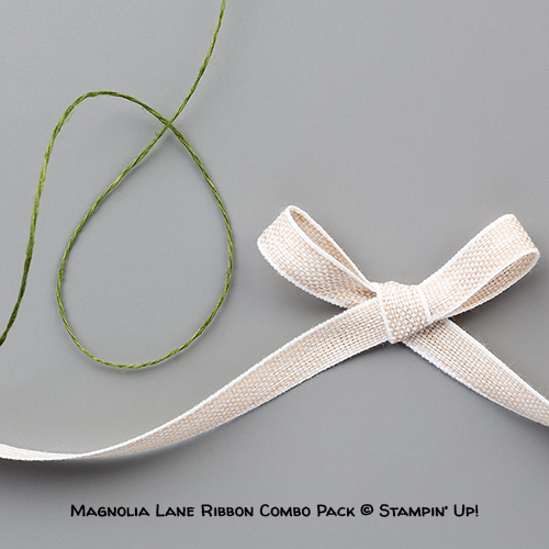 Magnolia Lane Ribbon Combo Pack © Stampin' Up!