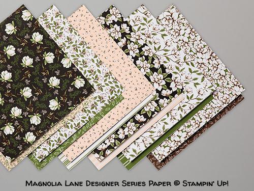 Magnolia Lane Designer Series Paper © Stampin' Up!