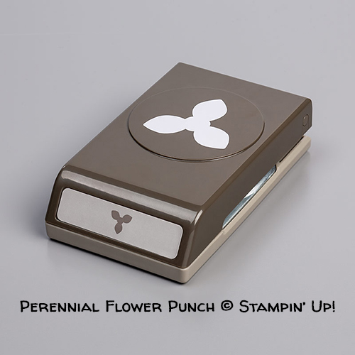 Perennial Flower Punch © Stampin' Up!