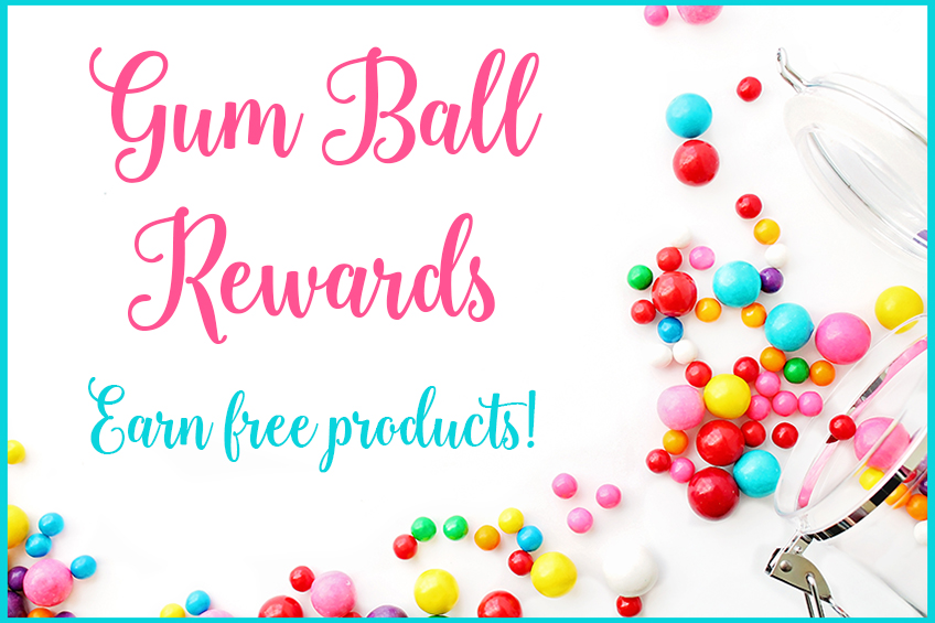 Gumball Rewards #stampcandy