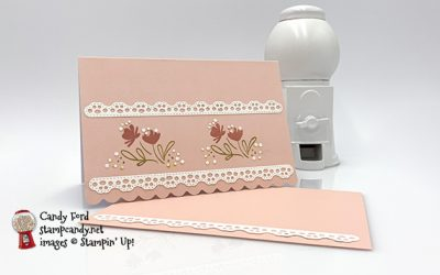 Delightful Day Scalloped Note Card & Envelope