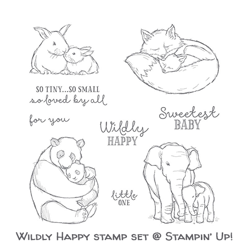 Wildly Happy stamp set © Stampin' Up!