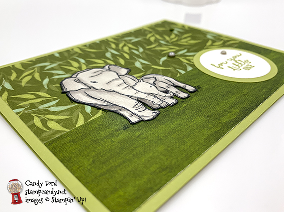 "Wildly Happy stamp set from Stampin' Up! for June 2019 InKing Royalty ""New"" Blog Hop #stampcandy"