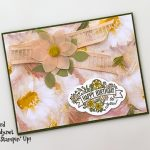 Perennial Essence suite, Label Me Pretty stamp set, Pretty Label Punch, Detailed Trio PUnch fro Stampin