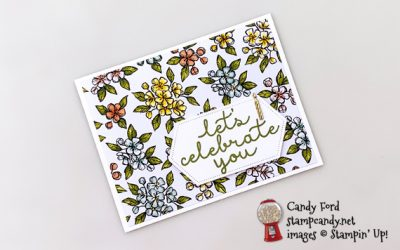 Bloom and Grow Bird Ballad Birthday Card