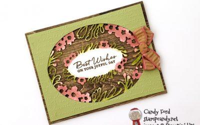 Path of Petals CASEd Card