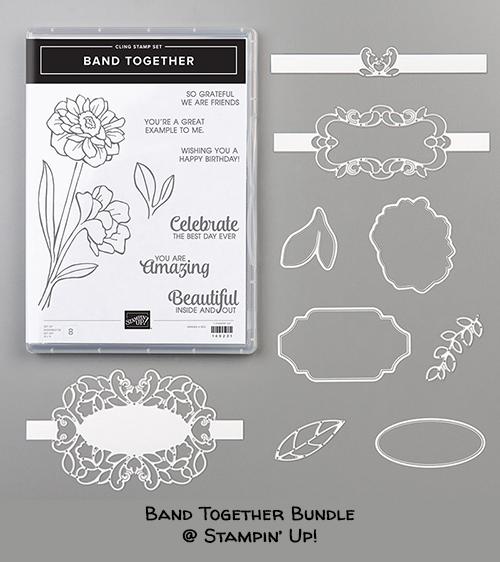 Band Together Bundle © Stampin' Up!