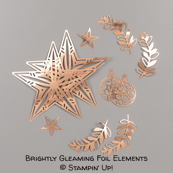 Brightly Gleaming Foil Elements © Stampin' Up!