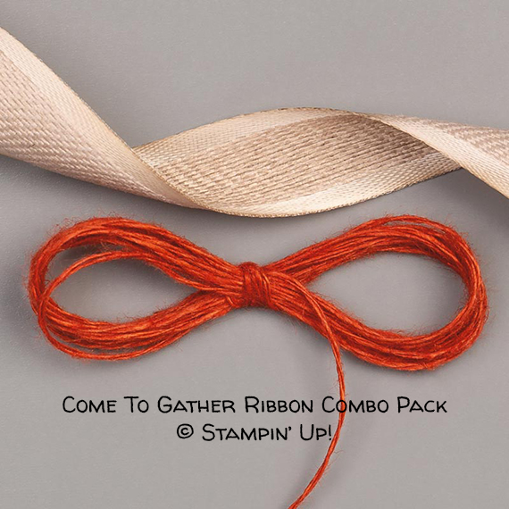 Come To Gather Ribbon Combo Pack © Stampin' Up!