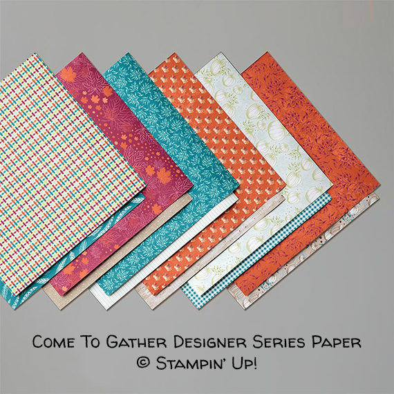 Come To Gather Designer Series Paper © Stampin' Up!