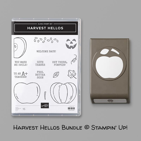Harvest Hellos Bundle © Stampin' Up!