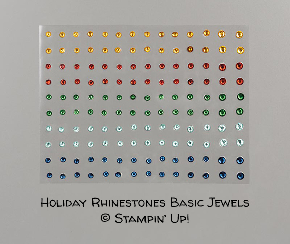 Holiday Rhinestones Basic Jewels © Stampin' Up!