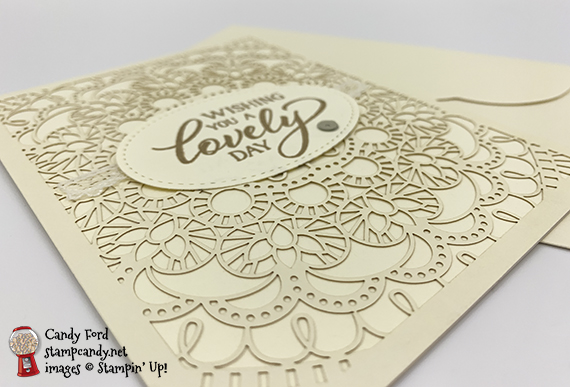 Stampin' Up! Forever Lovely bird ballad laser cut handmade card by Joanne Brown for Stamp Candy