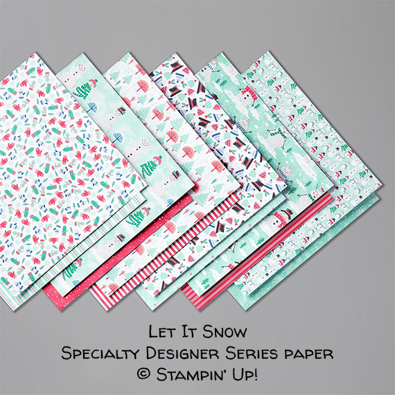 Let It Snow Specialty Designer Series Paper © Stampin' Up!